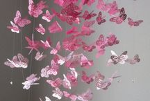 Paper Butterflies / Fill your space with colourful butterflies with a Butterfly Paper Punch and colofrul Paper !