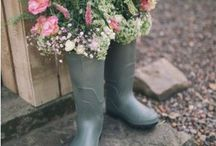 A Summer Country Wedding / Elegant inspiration for the perfect summer country side wedding.