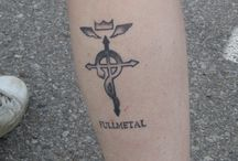 Anime-Geek tattoos / Anime fans having tattoos? You bet.  Here is a collection.