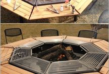 BBQ and firepits (outdoors)