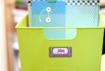 Scrapbook Organization / by Katie Scott