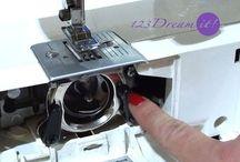 máquina de coser, soluciones
