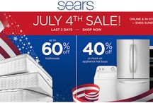 Sears Coupon Codes / Sears is a online leading retailer store for online shopping of home and garden, shoes, clothing, auto parts, kitchen appliances, tools, kids toys and much more. Sears is your best place for online shopping don't forget to use sears coupon codes promos and free shipping offers.for more coupons and deals visit: www.couponcutcode.com/stores/sears/
