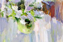정물 꽃병꽃그림