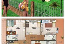 Projetos casas de campo