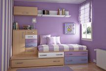 Colores cuartos infantiles