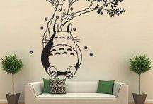 Disegni su parete