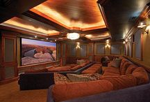 Home theater ideas / by Marly