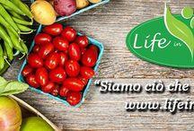 Life In Food - Alimentazione sana / Life in Food è il sito ideale per chi vuole regolare l'alimentazione e vivere meglio seguendo uno stile di vita sano. Articoli, consigli, ricette, diete, recensioni, video e tanto altro ancora!