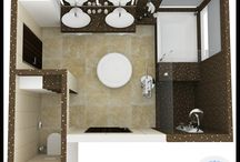 Bathrooms / Here's a collection of our favorite bathroom design submissions from contests hosted on Arcbazar.com. Hopefully some of these designs will inspire your next project!