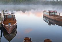 Boats on Derwentwater in the Lake District National Park, #Cumbria #HeathrowGatwickCars.com