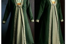 Viking: How to dress / Dresses and aprons