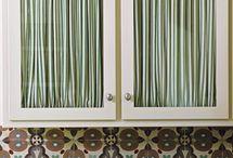 Kitchen Cupboard Curtains