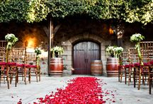 V. Sattui Weddings / We are one of the few wineries in Napa Valley who can host weddings, and we love making them special!