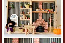 para Construir casas de muñecas