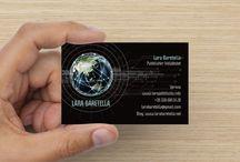 Lara Baretella / Biglietti pubblicitari da visita