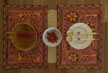 Stunning Table Sets / Stunning placemats for table sets, handmade with love from Africa.
