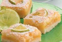 Lime cooler bars / Lime cooler bars