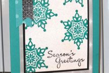 Cards Festive Flurry  / by Sandy Dean Johnson Copeland