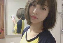 ulzzang girl short hair