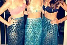 mermaid costumes / by Sarah Katthryn