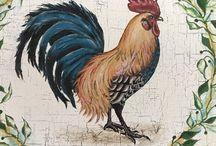 Рисуем курицу