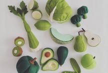 felt foods - tomomi maeda
