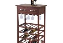 wood wine rack / by Debi Ewalt