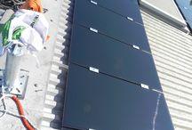 Impianto Industriale Altedo, Bologna / Impianto fotovoltaico per produzione e vendita di energia elettrica realizzato con moduli CIGS idonei per zone ad alta intensità di nebbia