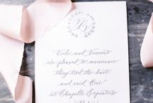 Paper Goods - Real Weddings by Fête in France