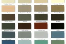 Color Chart / master gutter carry all the gutters available colors. You can choose the color you like most for your house or call us for help choosing the right color.