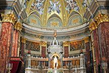 Templomok, szent helyek