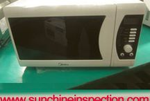 Microwave oven quality inspection
