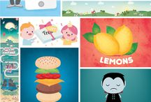 Milli-Jane / Lemonade Illustration Agency / Milli-Jane is represented worldwide by Lemonade Illustration Agency. Lemonade is multi-disciplined Artist Agency representing over 125 leading illustrators. This is just a small selection of images from the illustrator's portfolio.