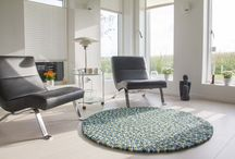 Kugletæppe / Felt ball rugs / Filzkugelteppich / Kugletæpper af høj kvalitet The best and most beautiful felt ball rugs! Filzkugelteppich