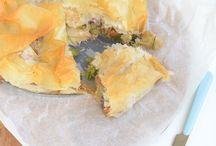 Hartige taarten en Quiche