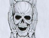 skull / skeleton