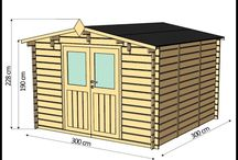 Large Wooden Garden Shed XL Outdoor Patio Storage Structure Building Warehouse