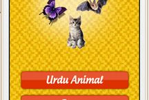 Urdu Animals / Fun educational app for preschoolers for iPhone & Android. This app helps your kids in learning animal names in Urdu. Free available on iOS/Adnroid stores
