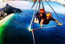 Hangglind over Rio de Janeiro