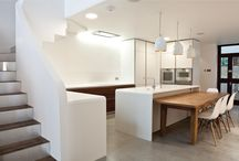 Vertical living / Together with our clients, a simple and bold design decision was taken which completely transformed the house and the way it is being used.