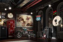 Garage estilo taller