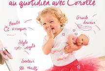 Corolle / à quoi reconnaît-on une poupée Corolle entre mille ? #poupees #enfant #eveil #jeu