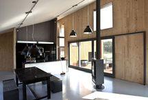 OSBdesk plywood interior