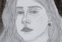 портреты. / #рисунки#draw#портреты#самоучка#сфото#gggg833