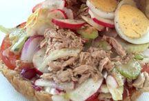 sandwichs, burgers et autres tartines