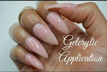 Gelcrylic Nails
