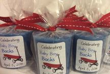 Baby Shower Favors / Perfect favors to thank you guest for attending the shower.  Something for every budget. / by Gina Dees