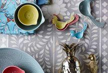 Moroccan Interiors- Cushion, Tiles, accessories