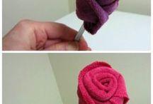 flor de toalha